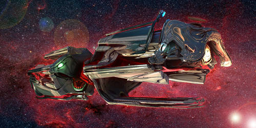 Alien Long Haul Freighter