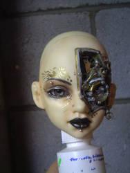 Sparkly Robot by mourningwake-press