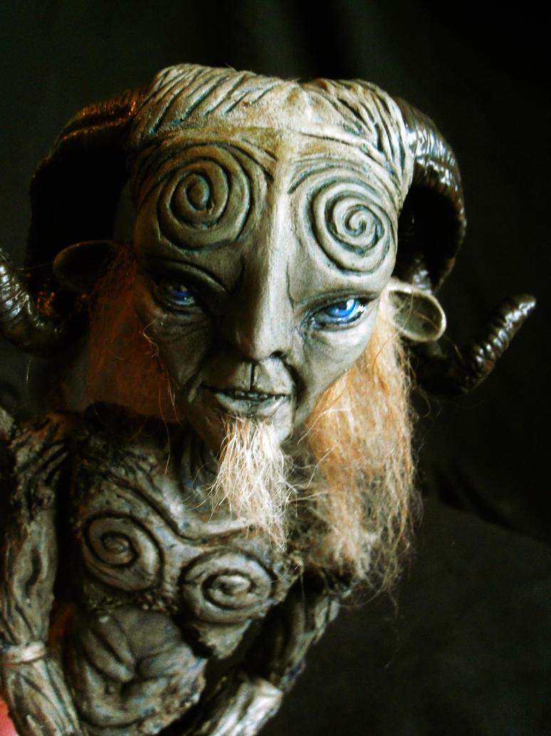 Pan's Labyrinth Faun BJD by mourningwake-press