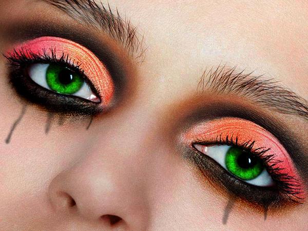 Макияж глаза кошачьи глаза фото зеленые глаза