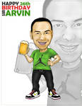 Sir Arvin's Caricature