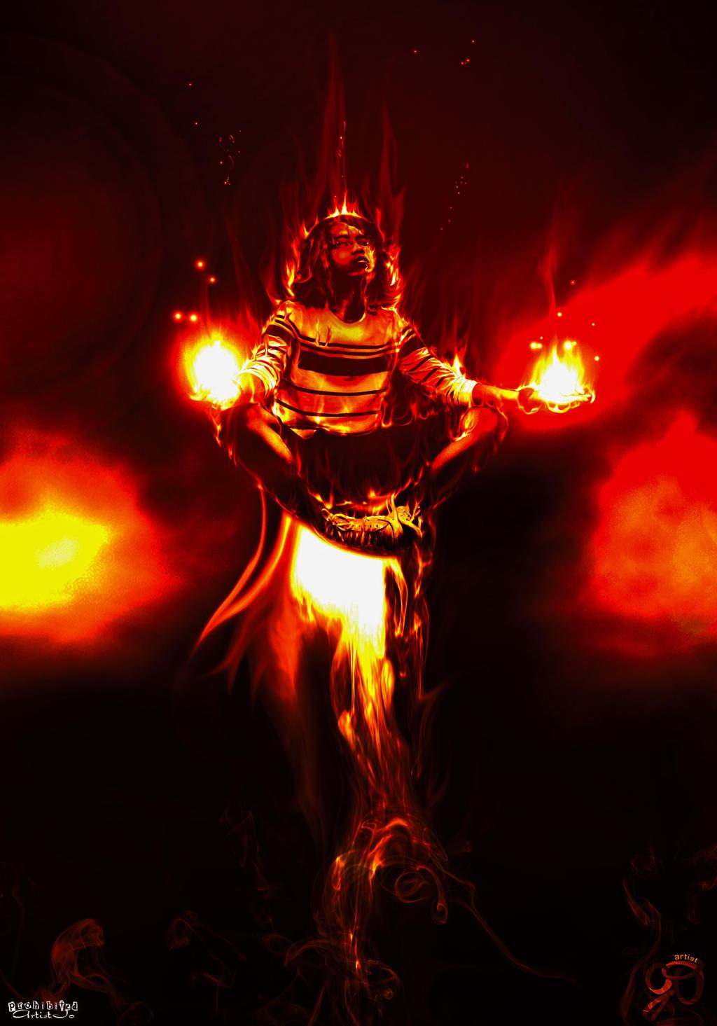 Burning Levitation