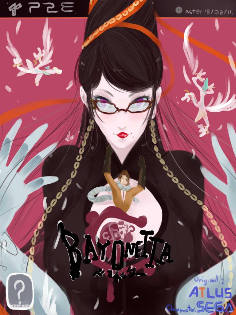 Bayonetta(?) by Lilinebaka