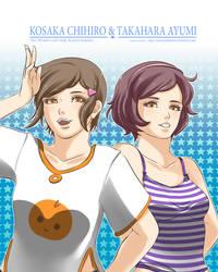 Chihiro and Ayumi