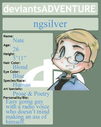DaComics - ngsilver Bio by ngsilver