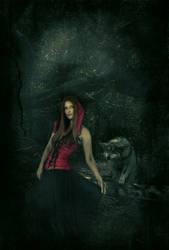 Little Red Riding Hood by drkangelkitty