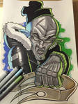 Comic marker action 2