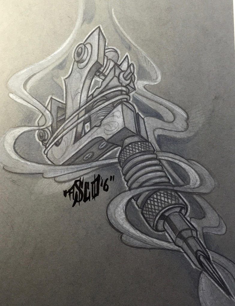 tattoo-machine by ASCOE