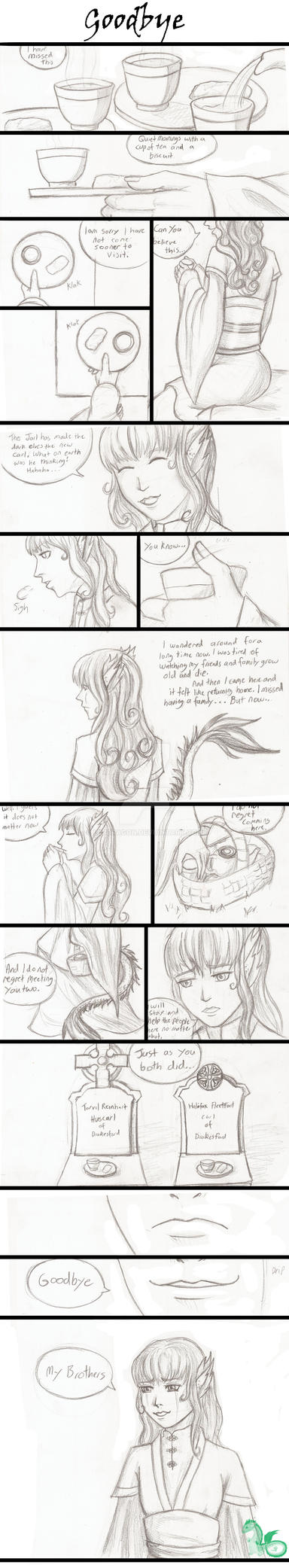 Comic Short: 'Goodbye' by Lil1Dragon