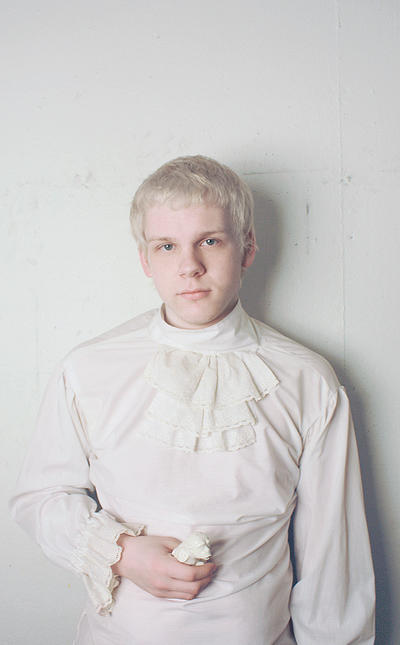 Melanistic human