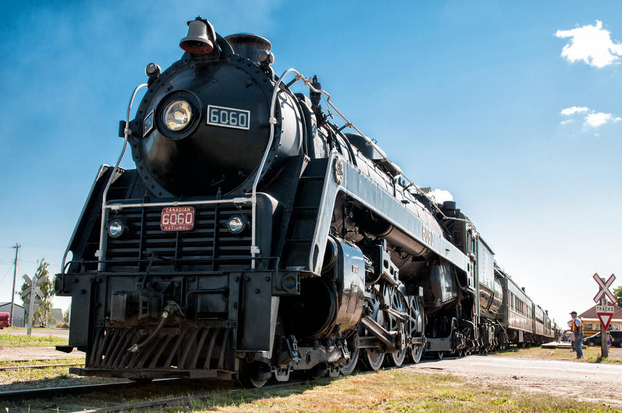 Steam Locomotive by MoCity