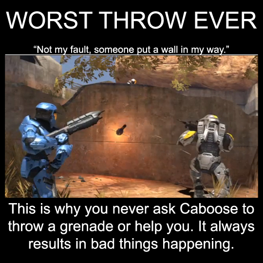 RvB worst throw ever demote by Drohung-DragonNinja on DeviantArt