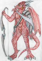 Rhemliv the Draconian Ranger by Drohung-DragonNinja