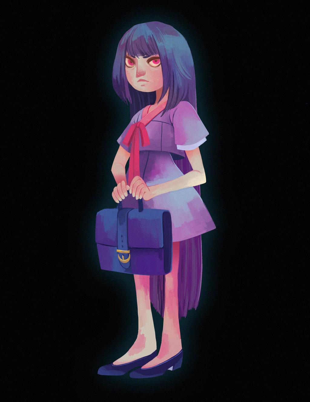 Ghost Girl2 by TheKuraken