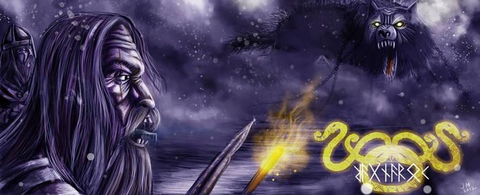 Fenrisulven-cd by Asgrimson