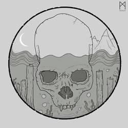 VINYL-SKULL by Asgrimson