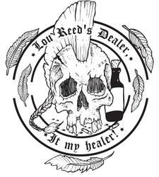Skull T-shirt design by Asgrimson