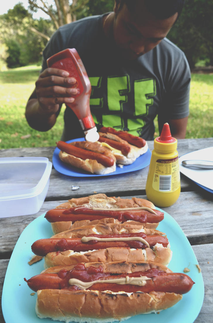 Camping food by Eatmyblackcancer