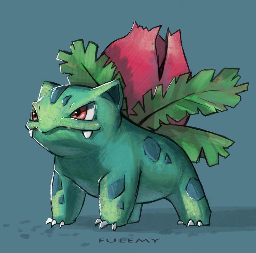 Ivysaur by Fulemy