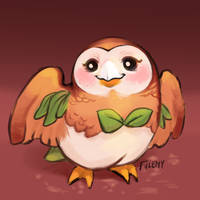 ROWLET by Fulemy