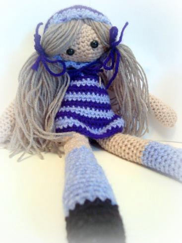 Lolly The Amigurumi Doll by EssHaych