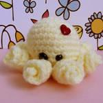 Pastel Yellow Baby Octopus