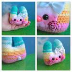 Pastel Pocket Bunny Friend