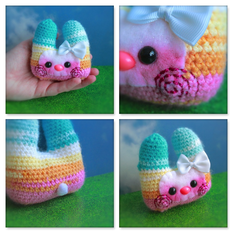 Pastel Pocket Bunny Friend by EssHaych