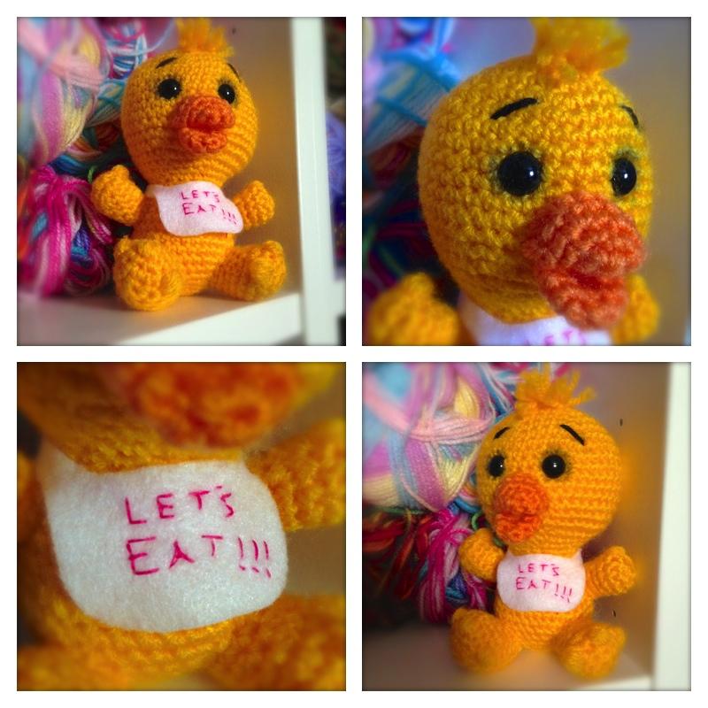 Free Pattern Chica The Chicken By Esshaych On Deviantart