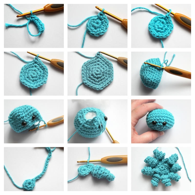Amigurumi Free Patterns And Tutorials – Daily best amigurumi ... | 800x800