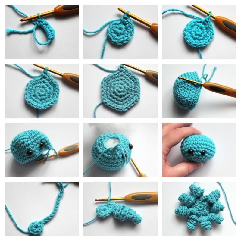 Free Pattern Crochet Octopus : Free Patterns on AmigurumiClub - DeviantArt