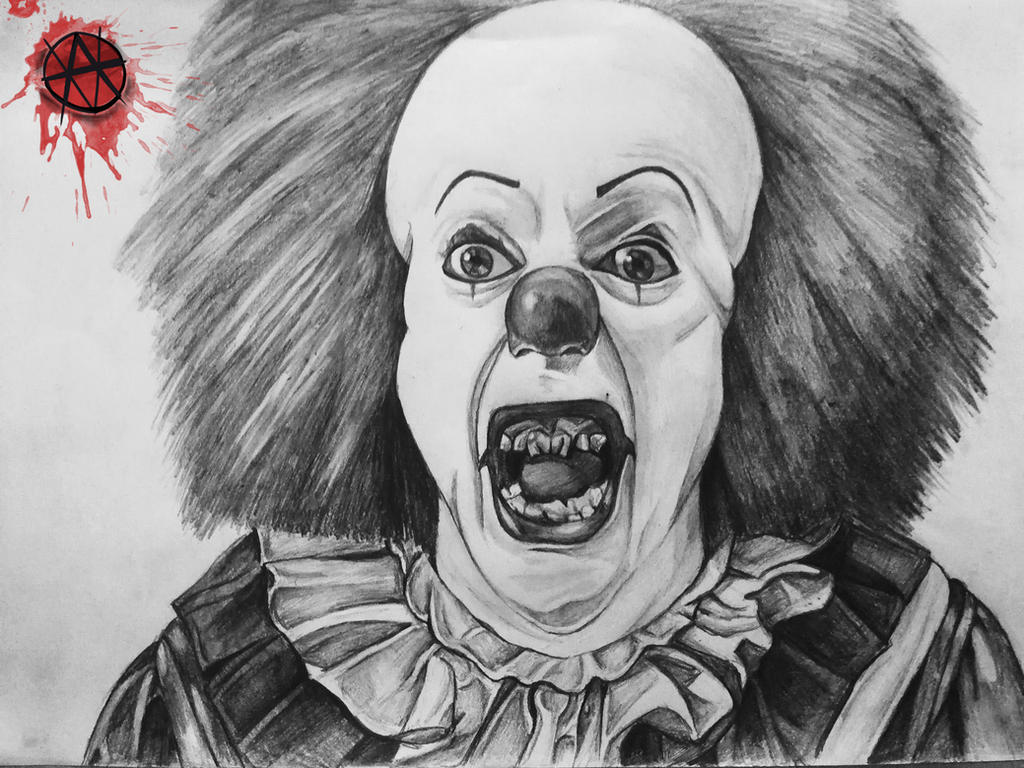 Pennywise The Clown Sketch by ArielVoorhees on DeviantArt