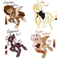 Christmas Themed MLP Adopts || CLOSED by SpaceAsylum