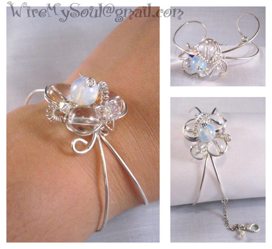 Divinity Cuff Bracelet by WireMySoul
