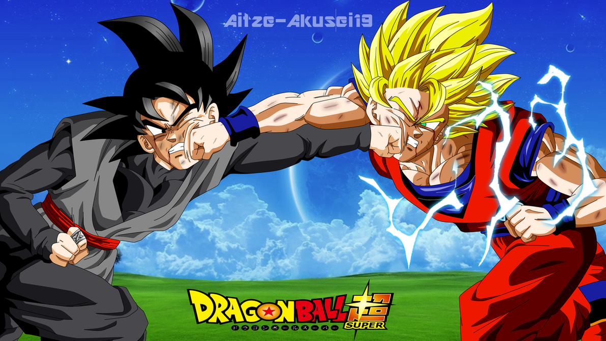 Goku Ssj 2 Vs Black Goku By Aitze-akusei19 On DeviantArt