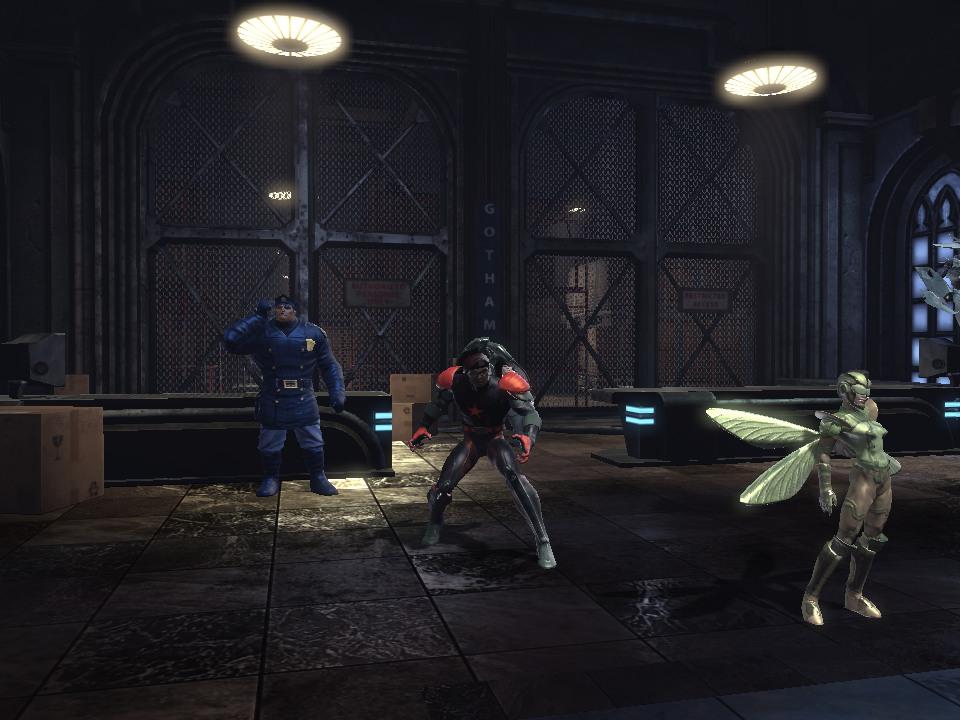 DC Universe Online: Panthawk by Bahmo