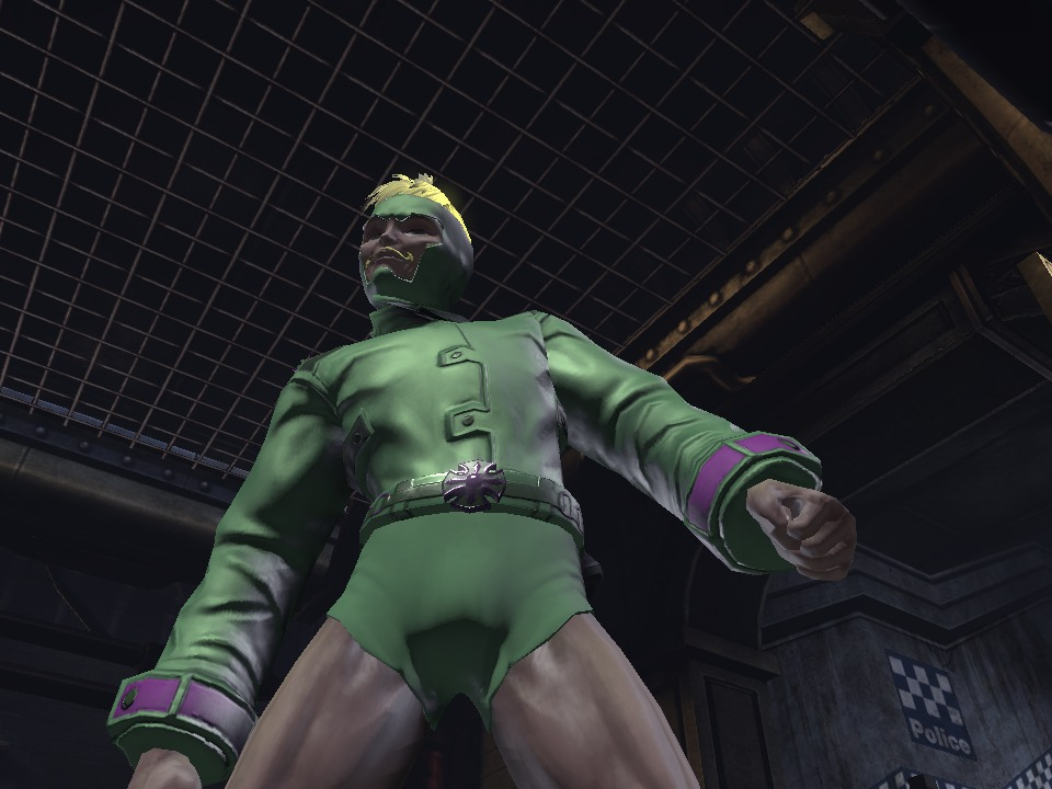 DC Universe Online: Throbbin' Wood by Bahmo