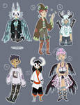 150 Point Edgy Humanoid Adopts [1/6 open] by Firefly-8