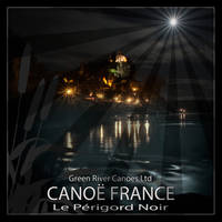 Full Moon Over Beynac by houselightgallery