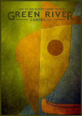 Green River Canoes Paul Klee Poster