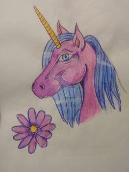 Floriana unicorn OC