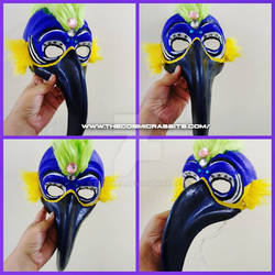 DIY birds of paradise - mask  type 2