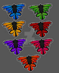 Leilib - monarch butterfly  - super fatpack