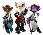 ASURA random character designsss