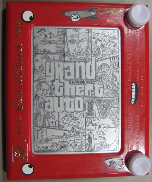 GTA IV Box Art by zeeshan810