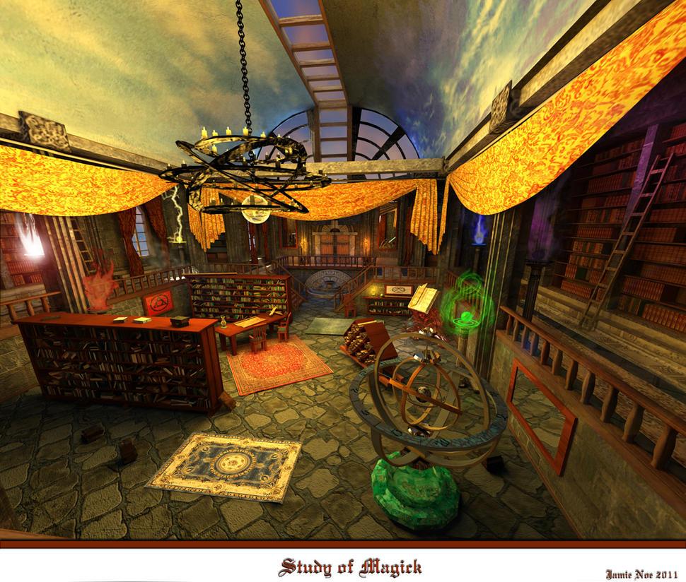 Study of Magick 1024x870 complete by WickedHorizon