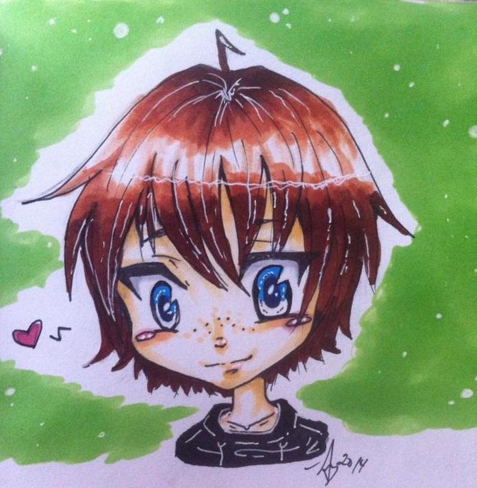 Chibi Doodle by Classycat101