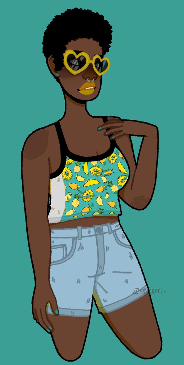 its summer bitch!! by SolarQvartz