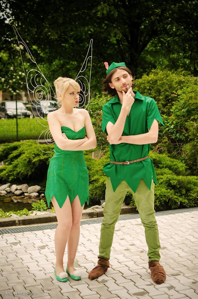 Hipster peter pan costume