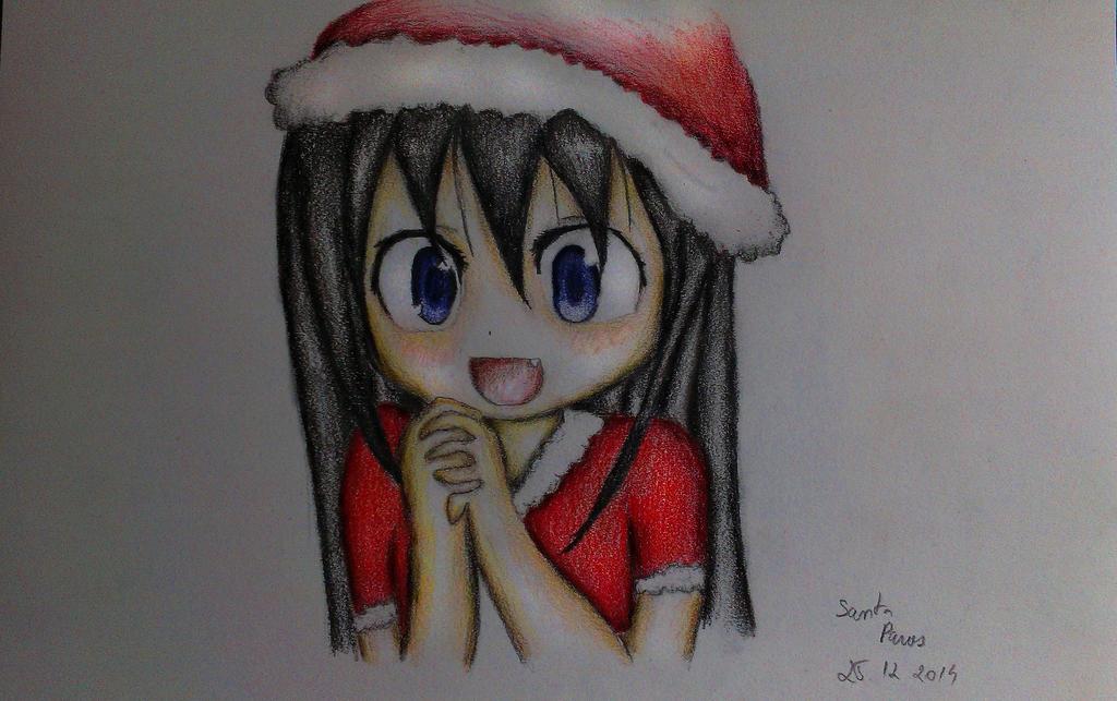 Homura's Christmas by kittyliciousme